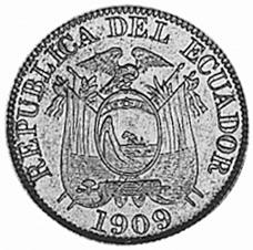 Ecuador 2 Centavos obverse