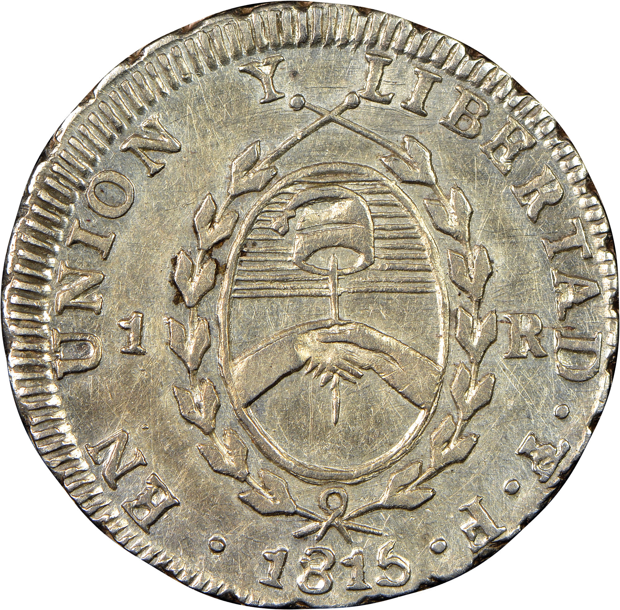 1813-1815 Argentina Real reverse