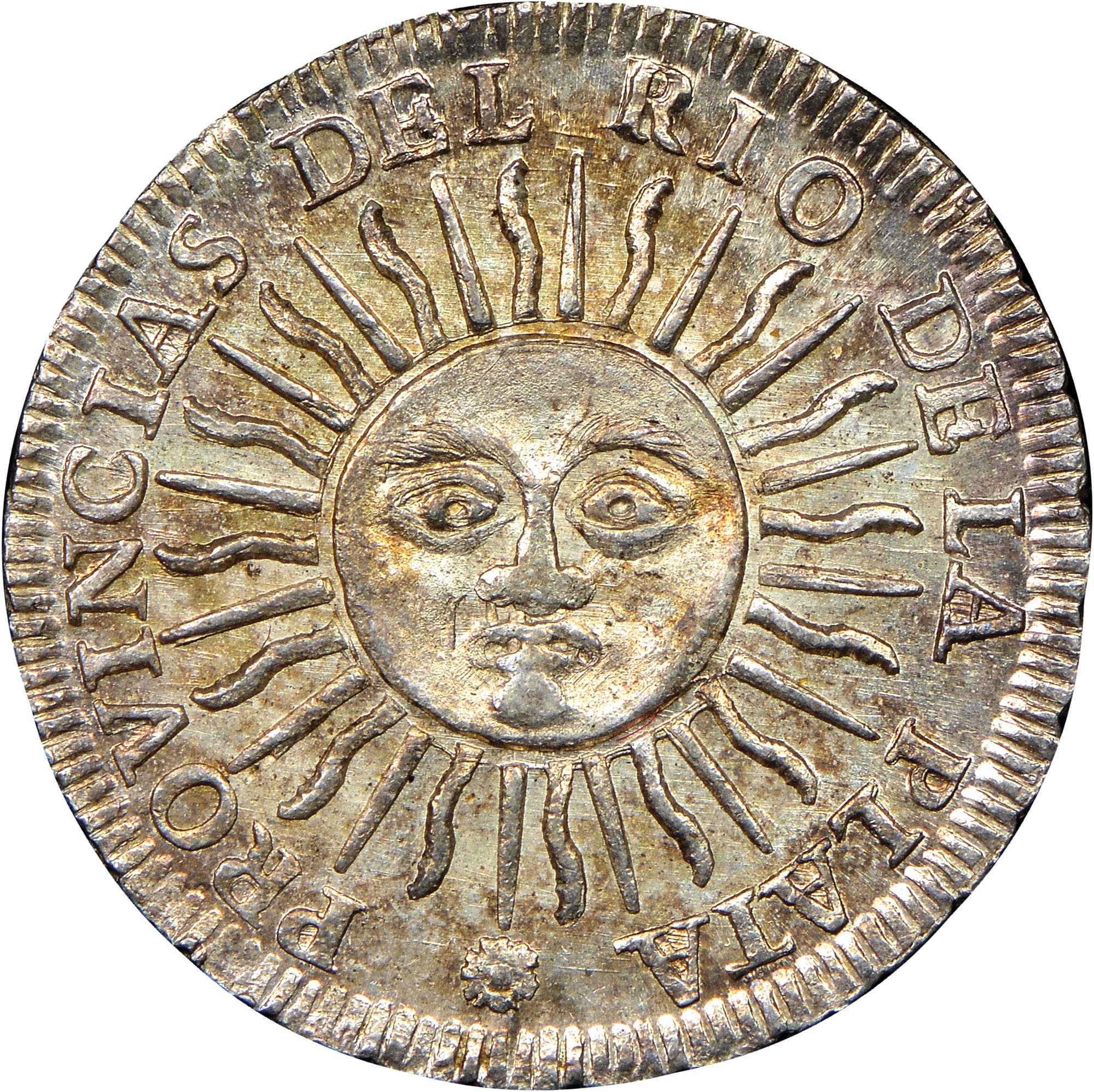 1815 Argentina Sol obverse