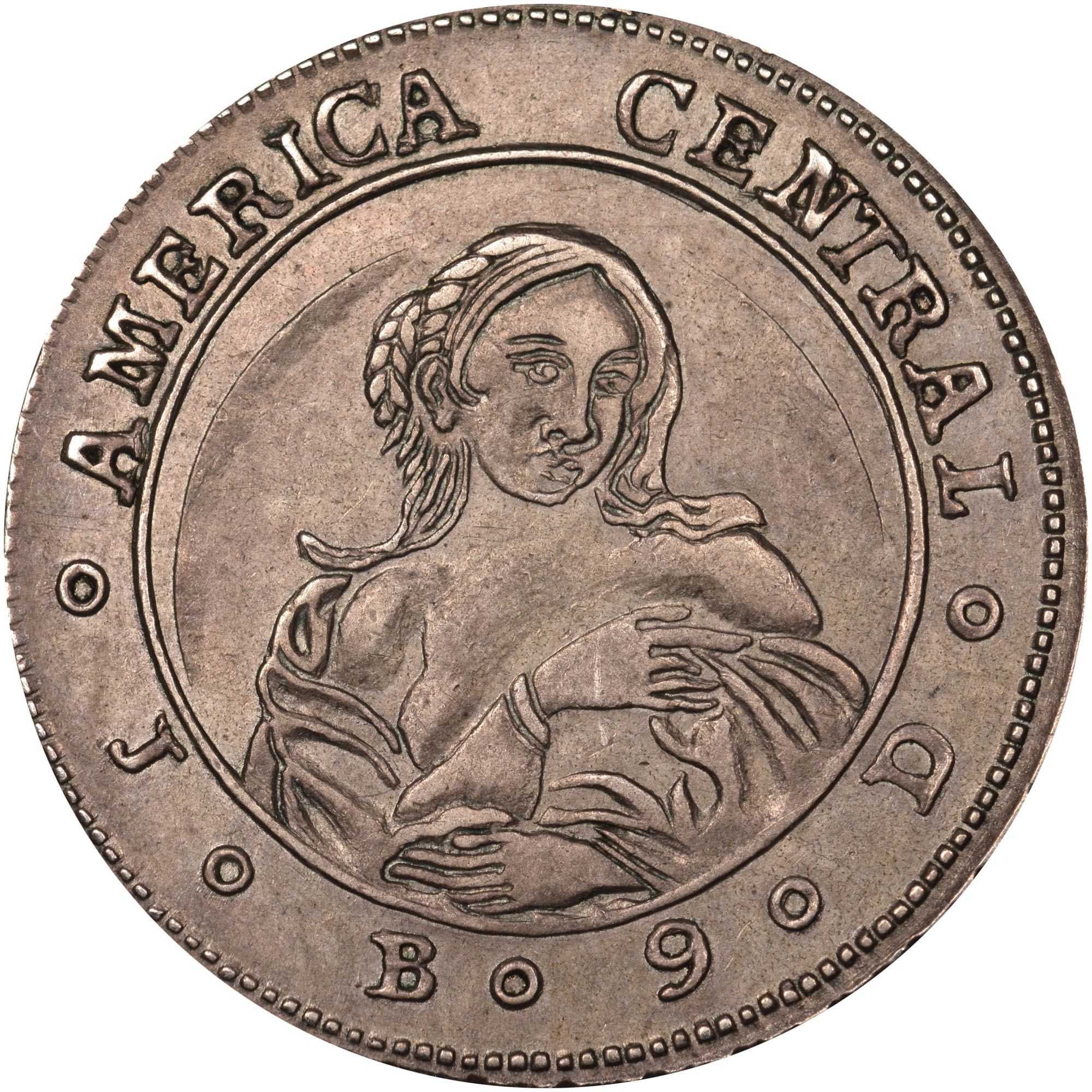 1849-1850 Costa Rica Real reverse