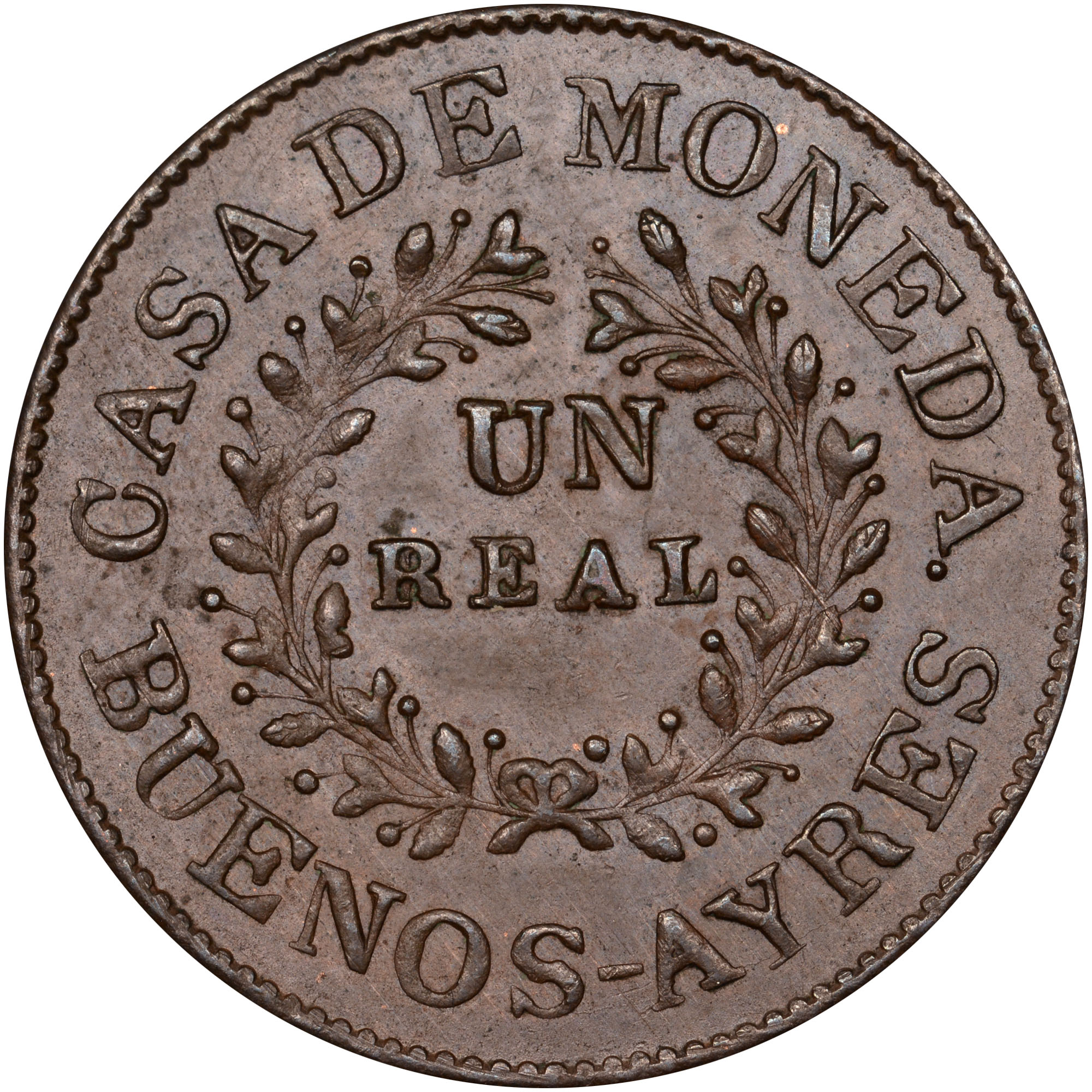 1840 Argentina BUENOS AIRES Real reverse