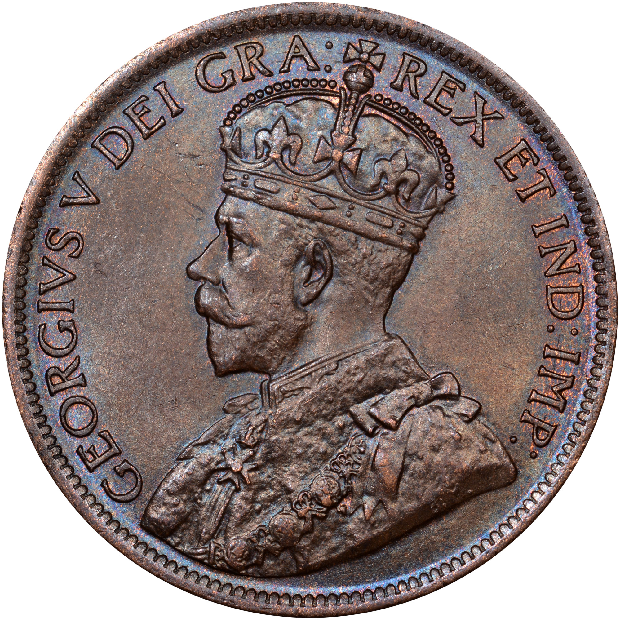 1912-1920 Canada Cent obverse