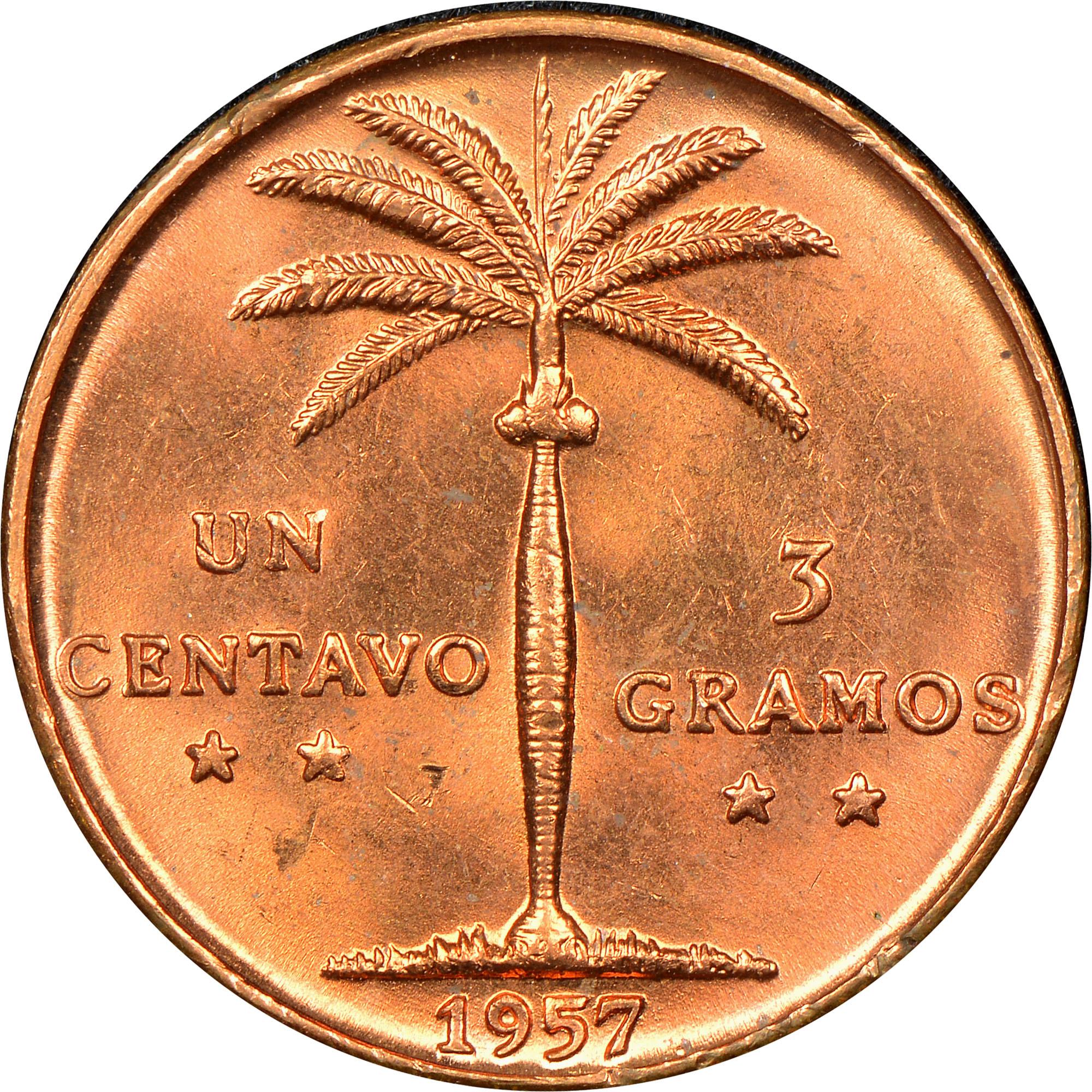 Dominican Republic Centavo reverse
