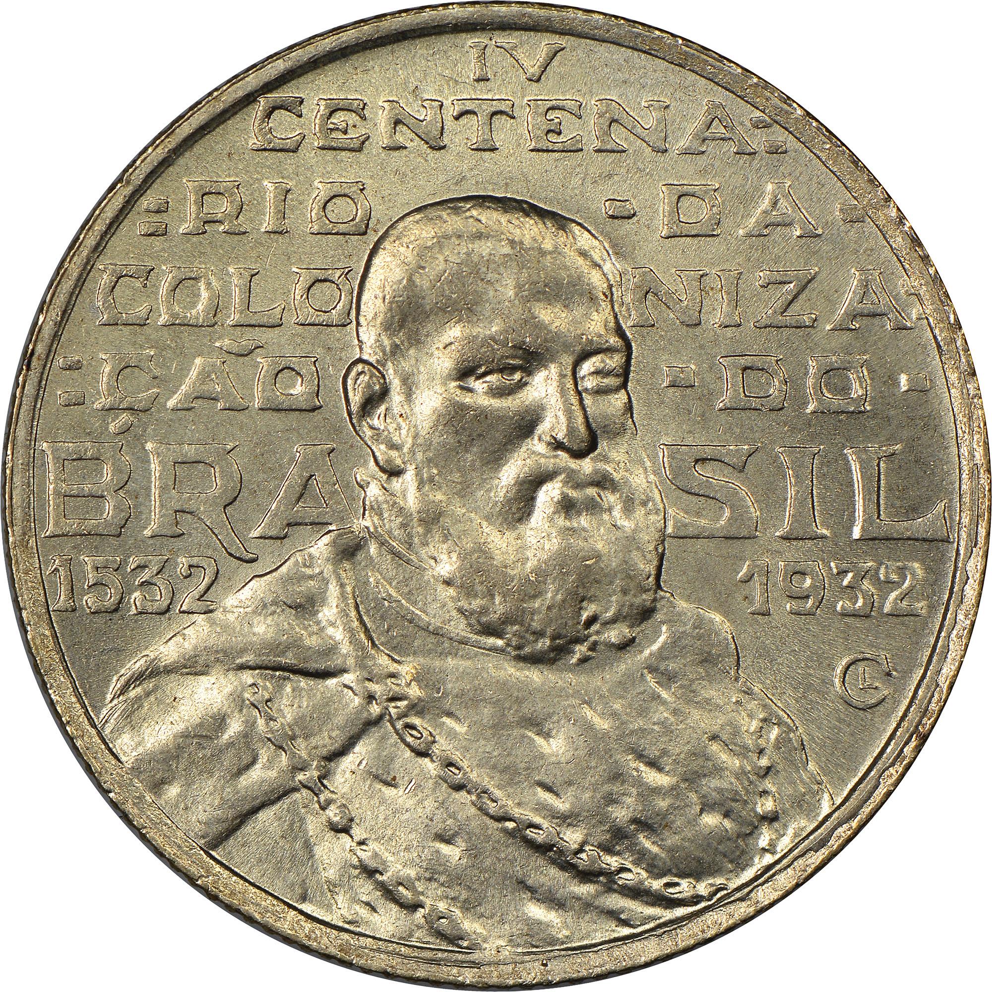 Brazil 2000 Reis obverse