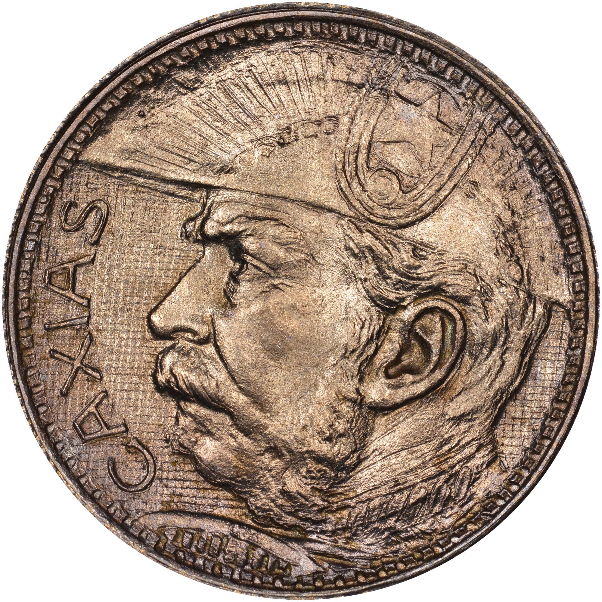 1935 Brazil 2000 Reis obverse