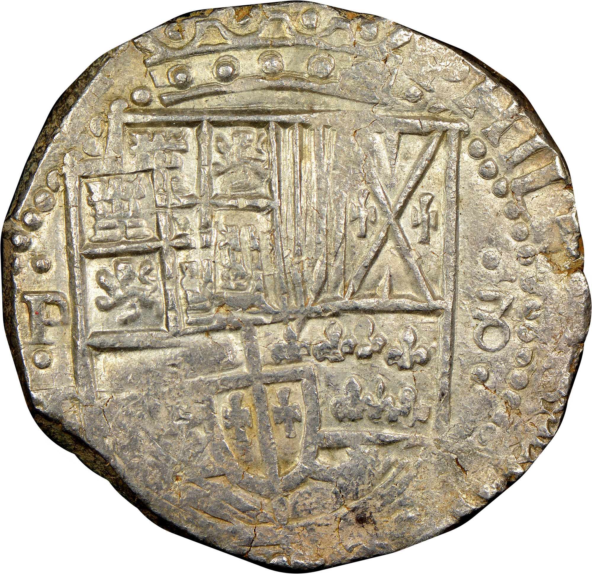 (1625-48)-1648 Bolivia 8 Reales obverse