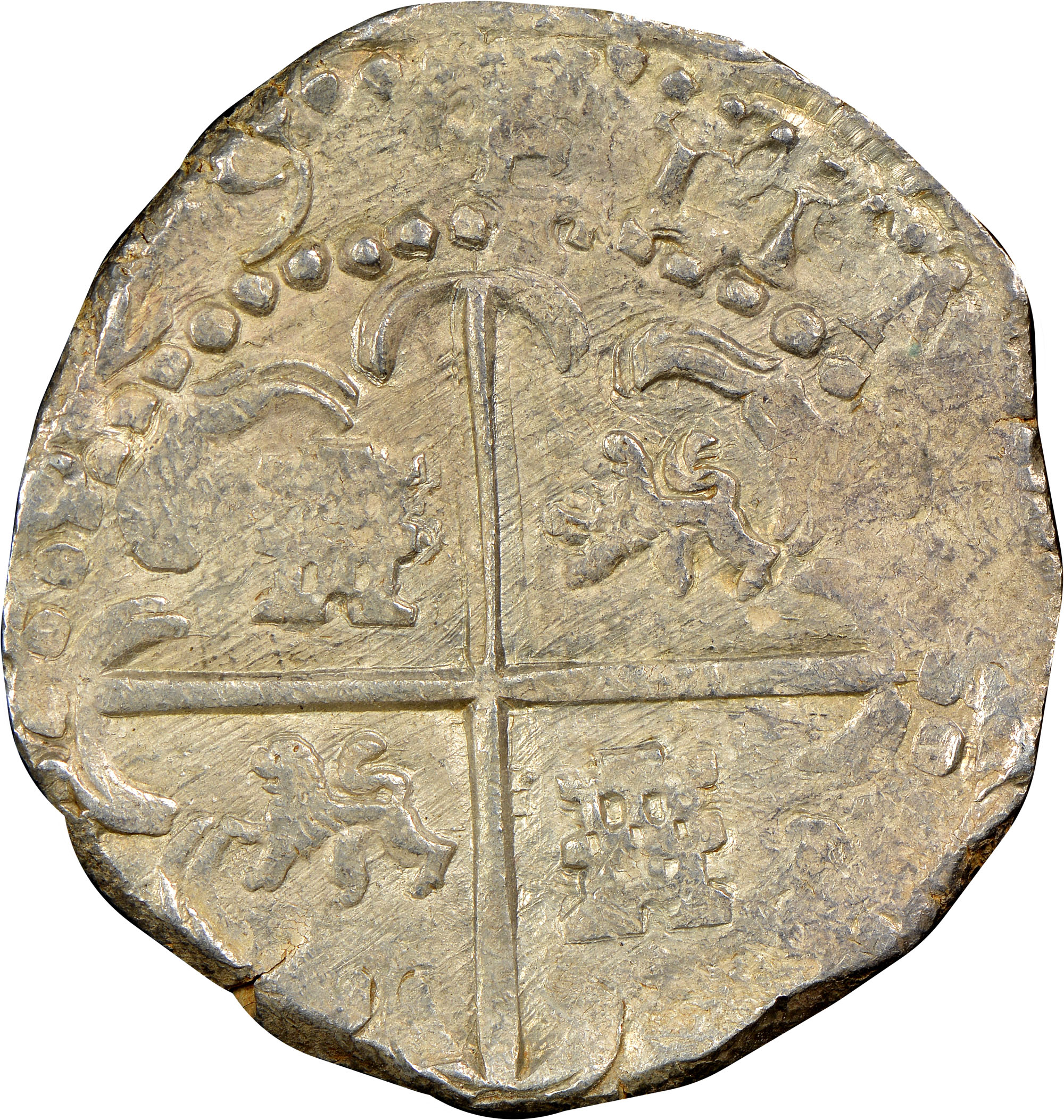 (1625-48)-1648 Bolivia 8 Reales reverse
