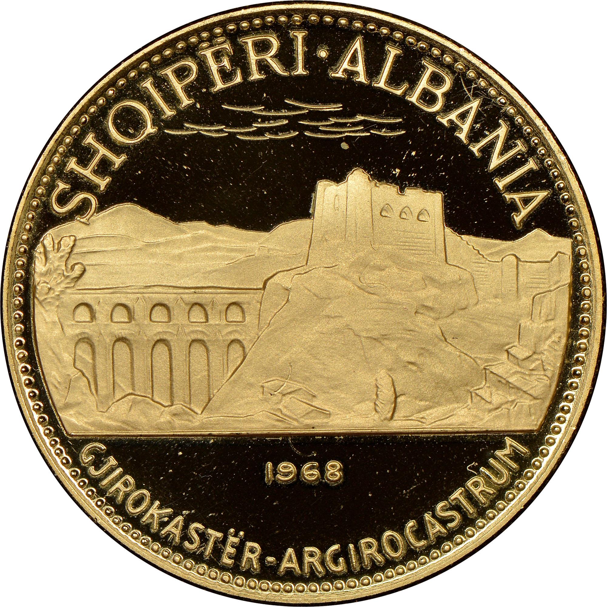 1968 Albania 50 Leke obverse