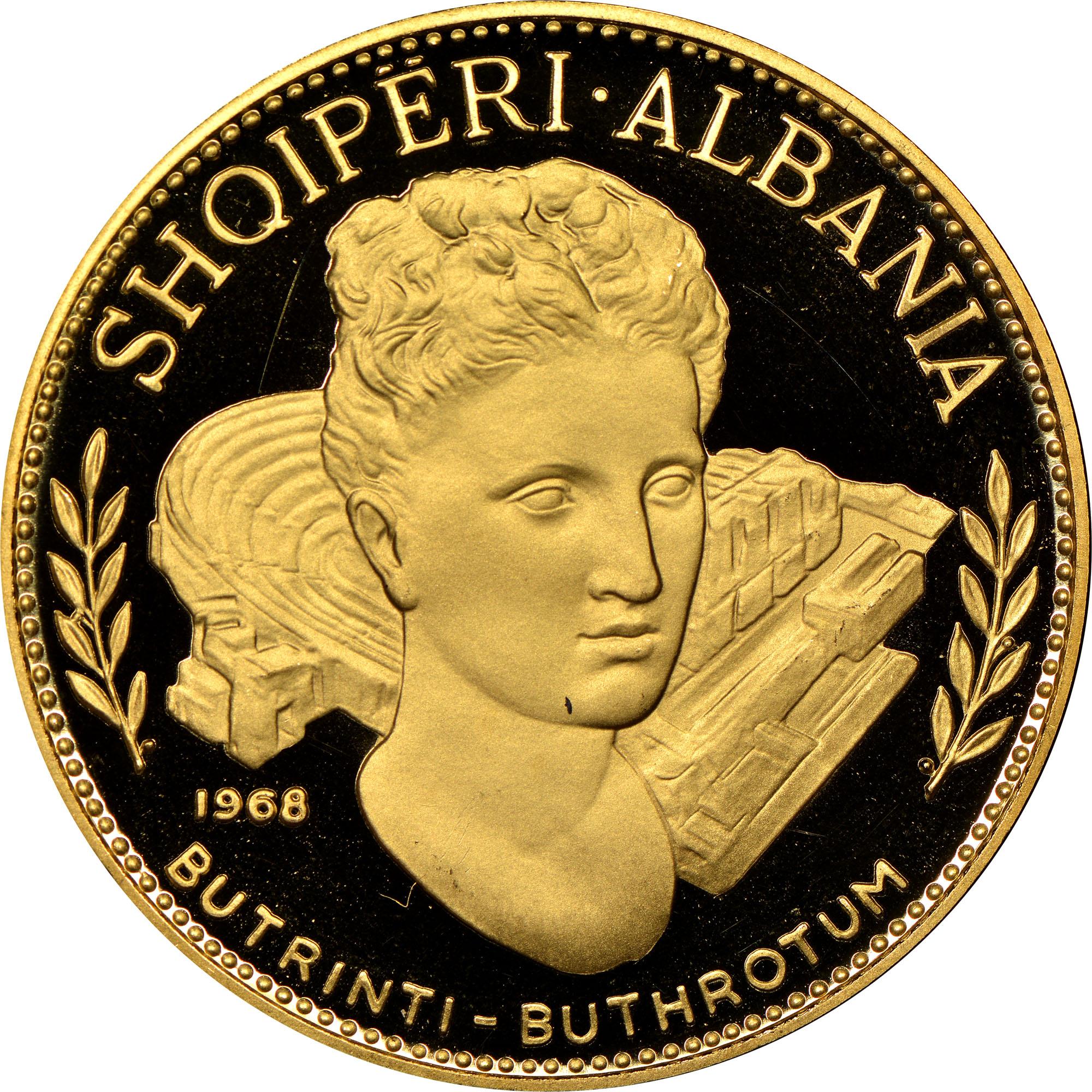 1968 Albania 200 Leke obverse