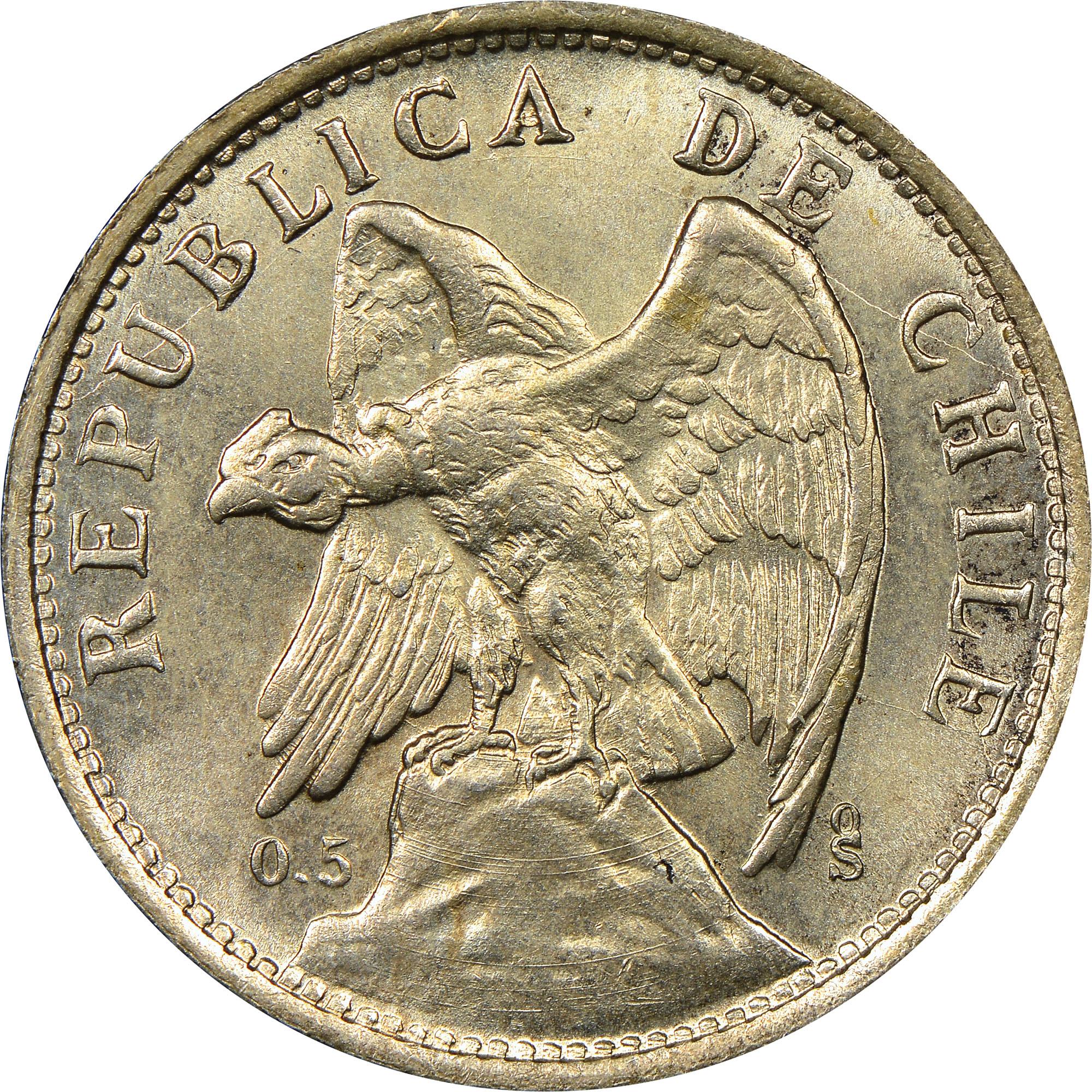 Chile Peso obverse