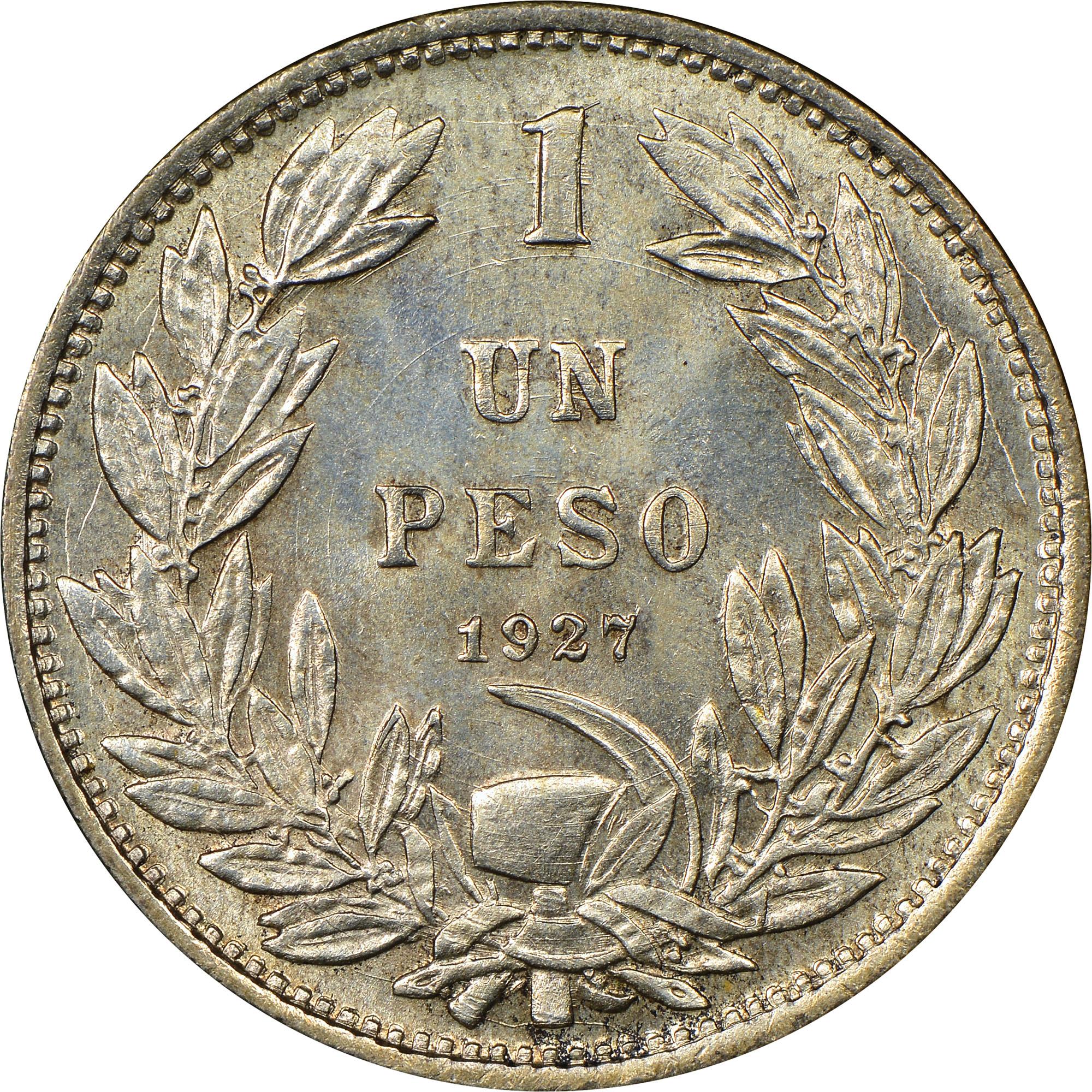 Chile Peso reverse
