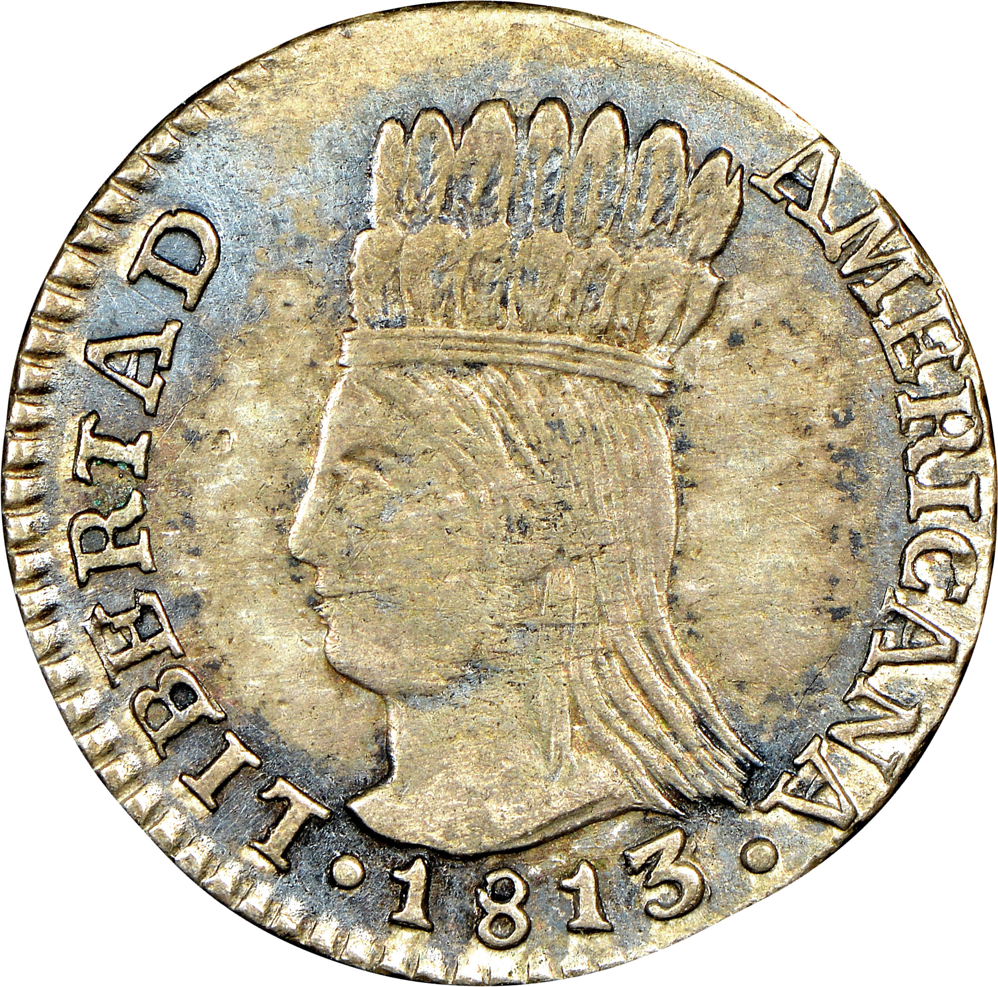 1813-1816 Colombia Real obverse