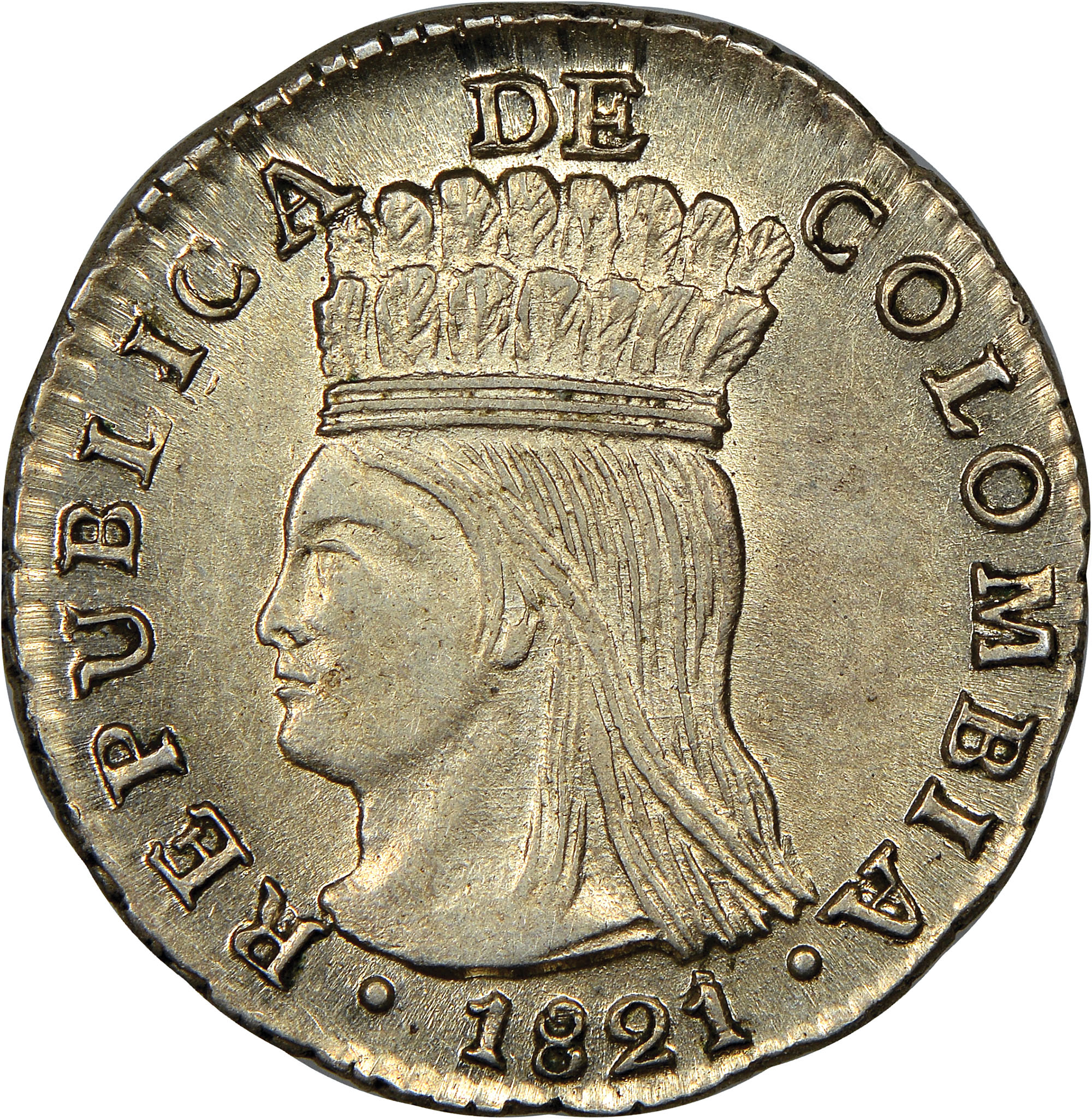 Colombia Real obverse