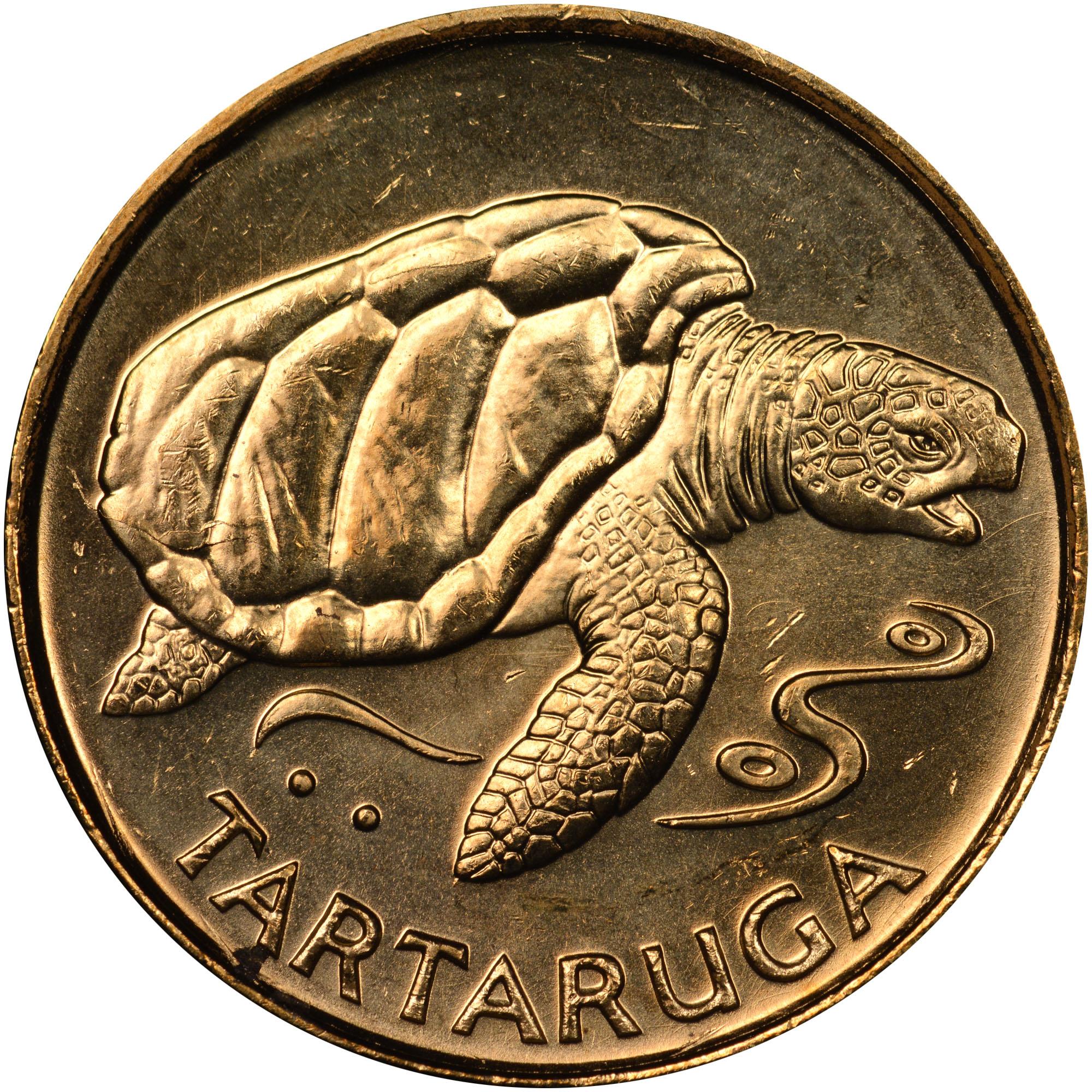 1994 Cape Verde Escudo reverse