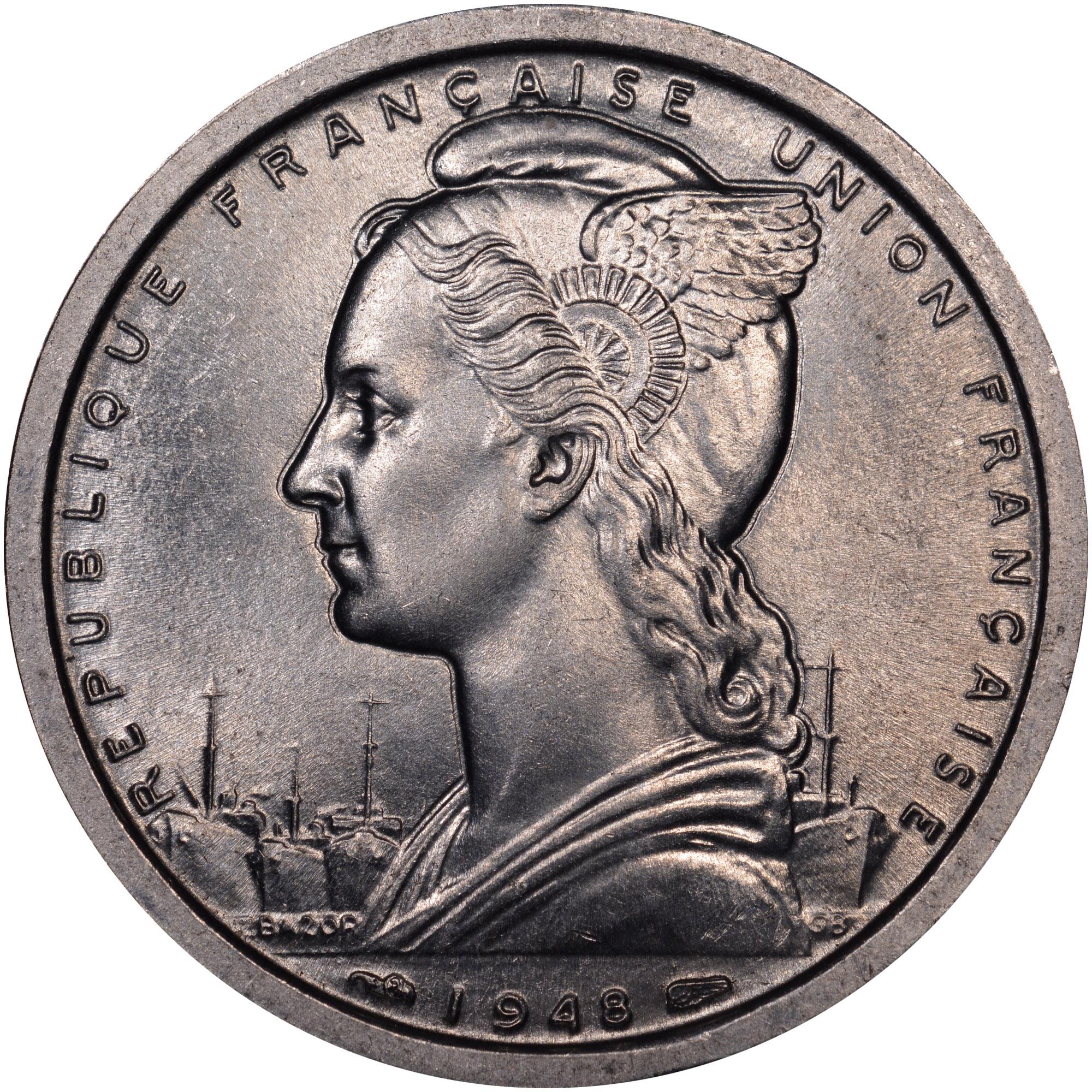 Cameroon 2 Francs obverse