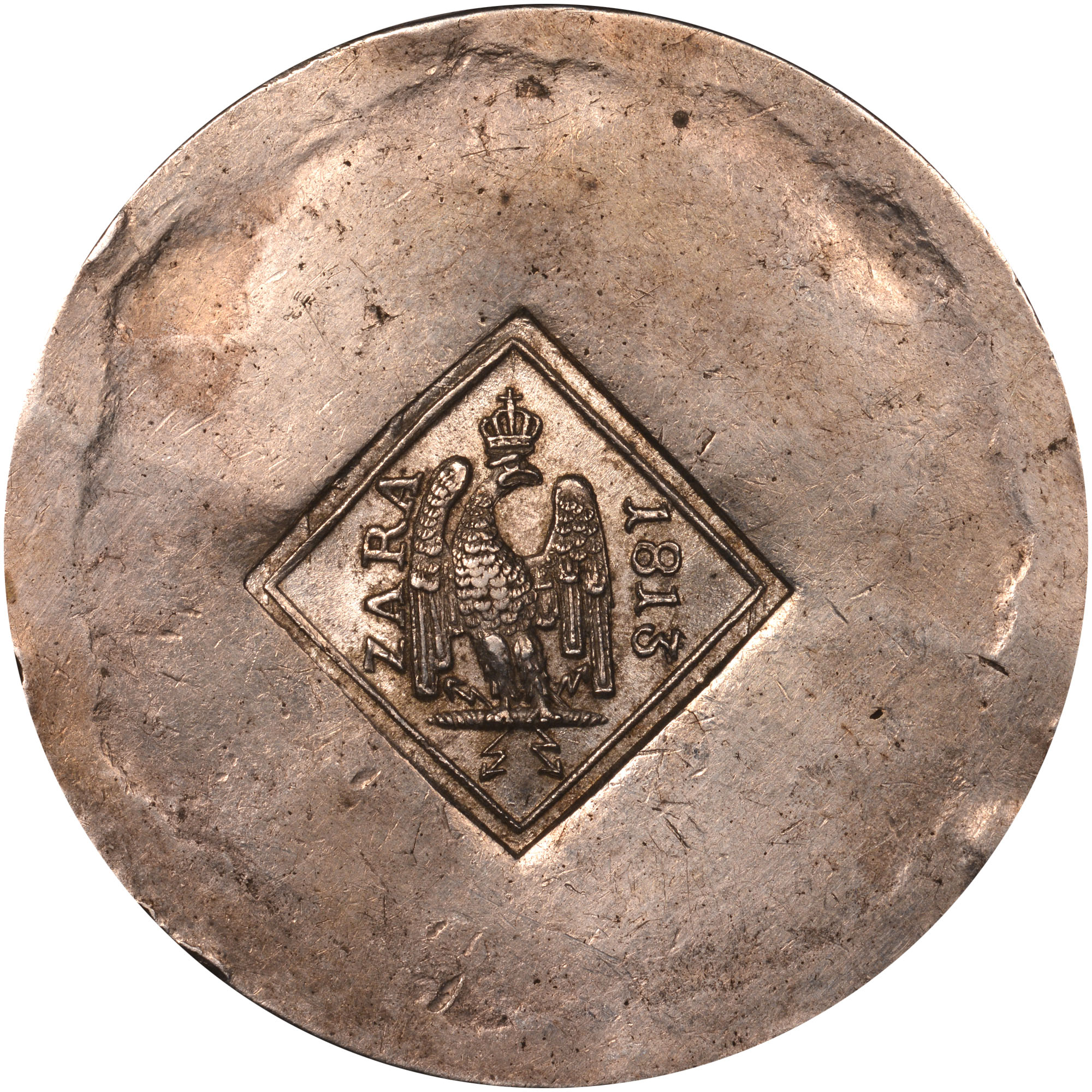 1813 Croatia ZARA 9 Francs-20 Centimes obverse