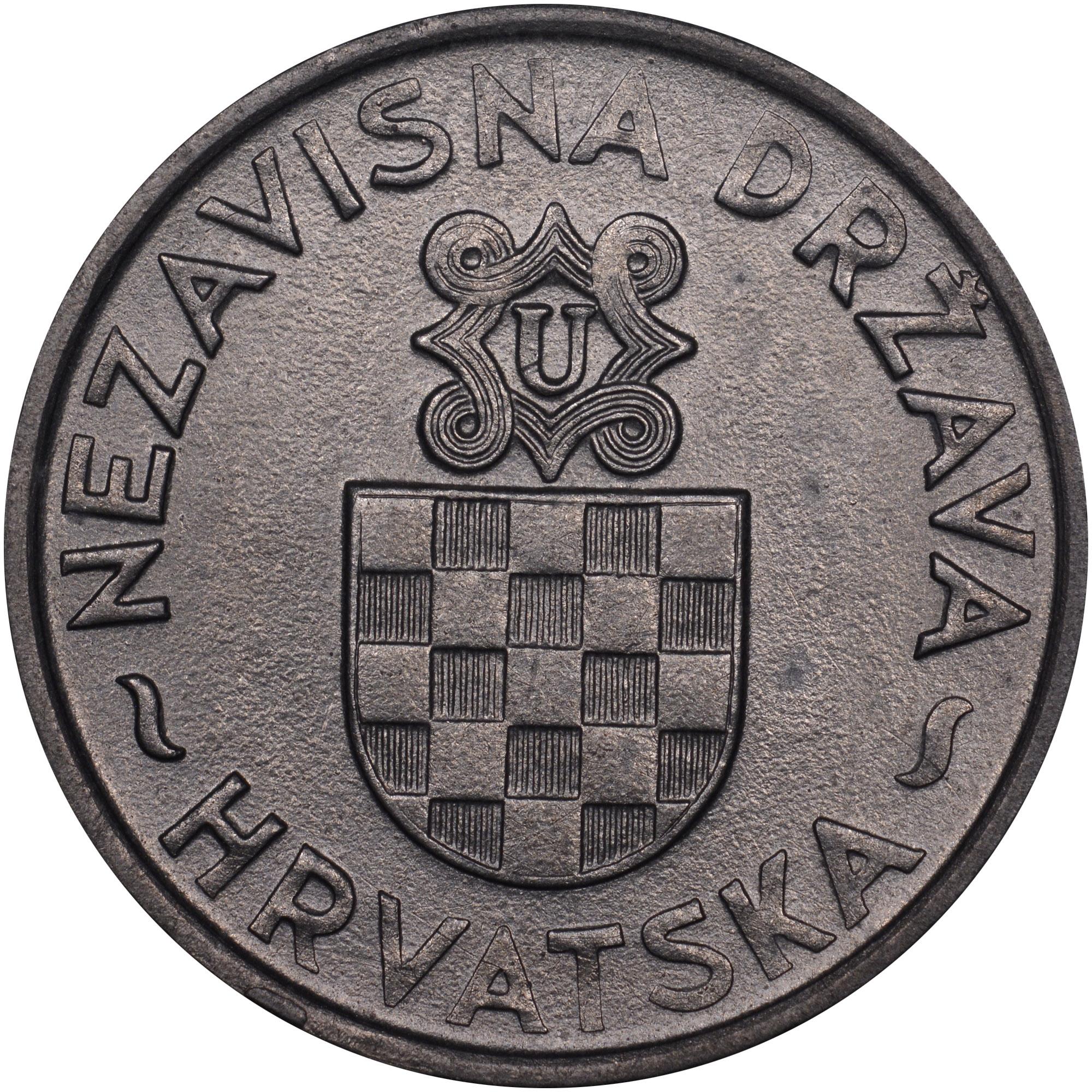 1941 Croatia 2 Kune obverse