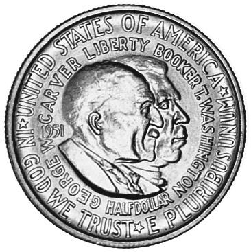 1951-1954 United States Half Dollar obverse