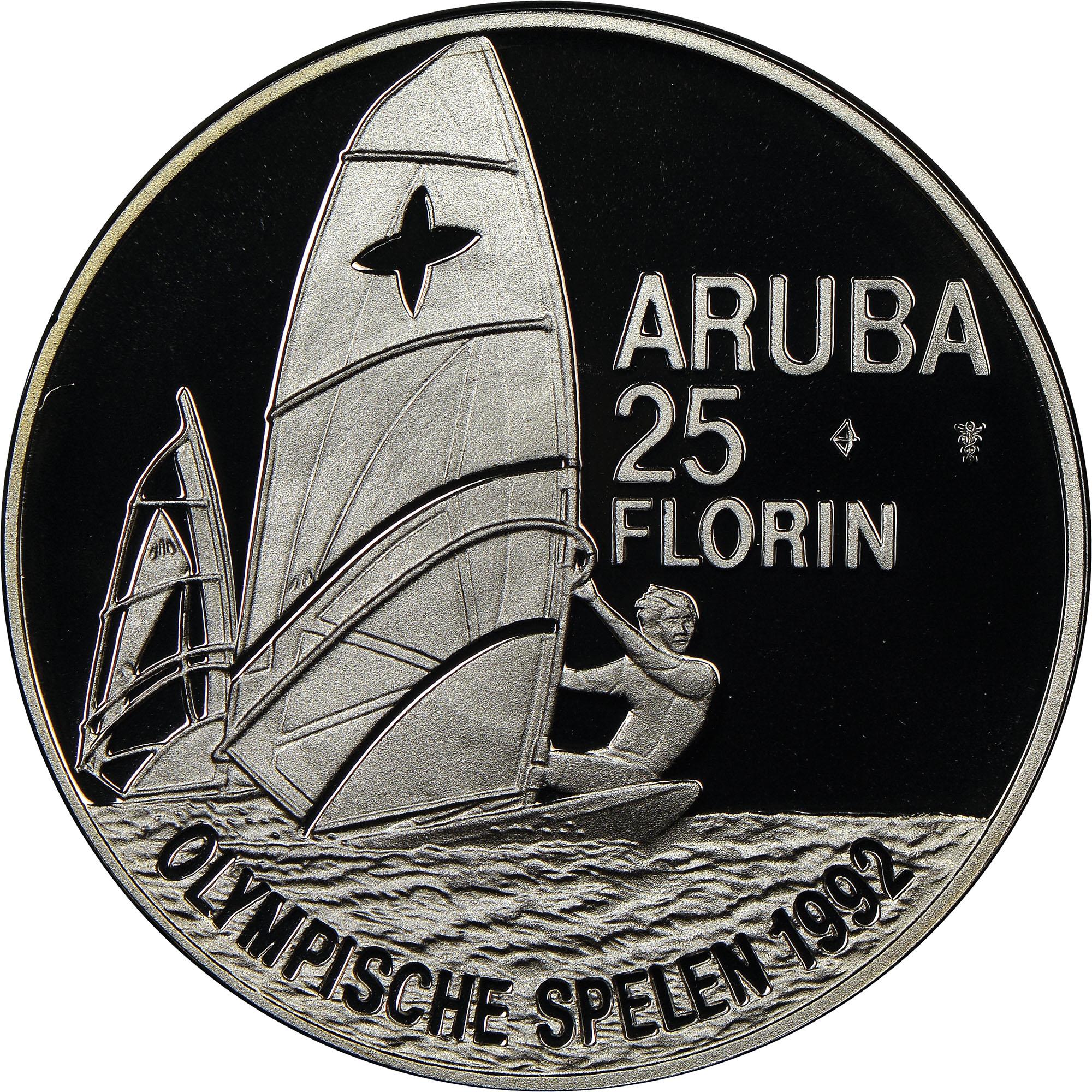 Aruba 25 Florin reverse