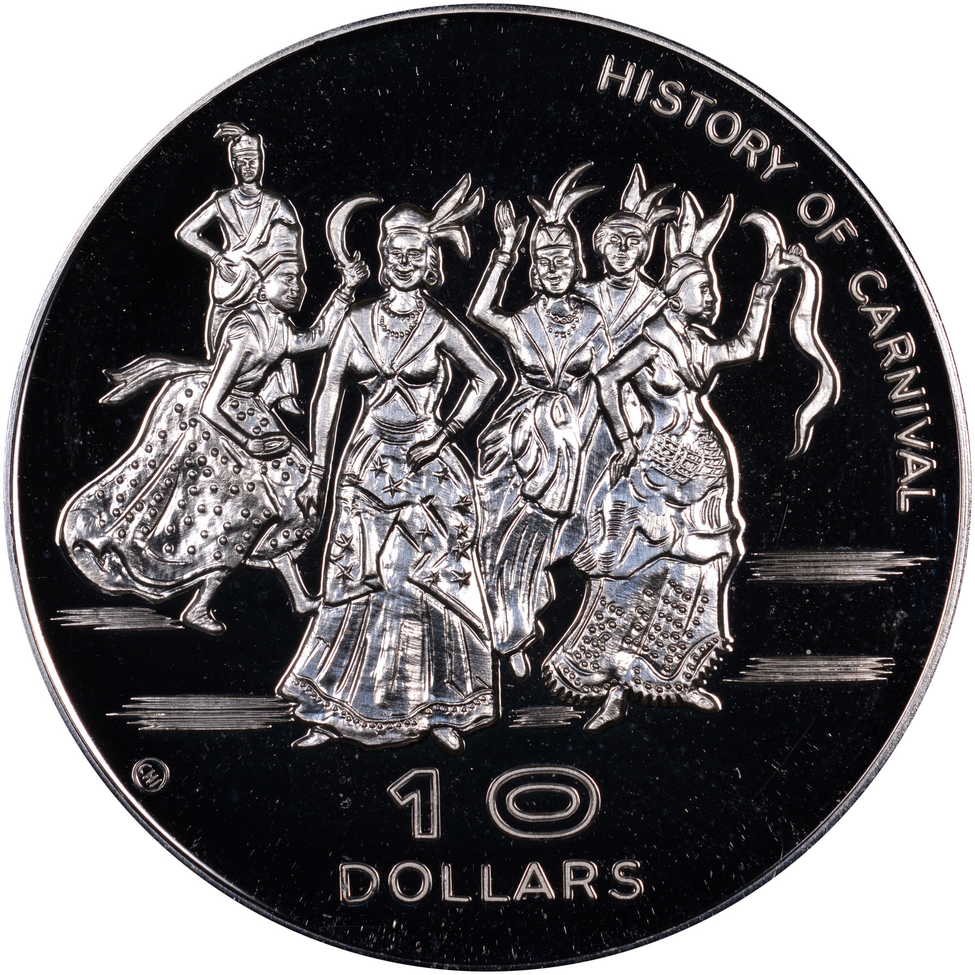 Dominica 10 Dollars reverse