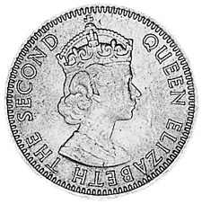 1953-1967 Fiji Sixpence obverse
