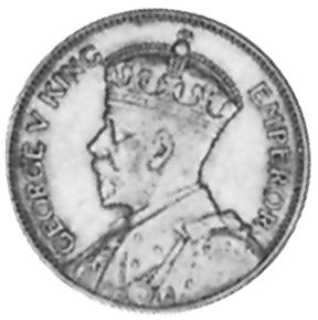 1934-1936 Fiji Shilling obverse