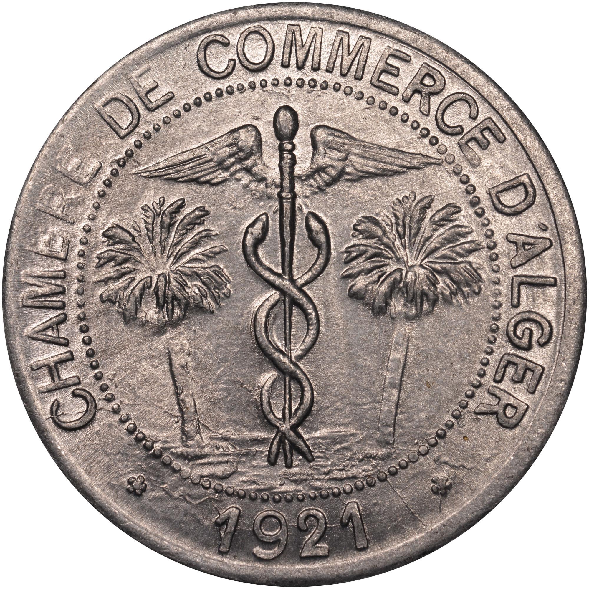 1916-1921 Algeria 10 Centimes obverse
