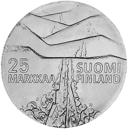 Finland 25 Markkaa obverse