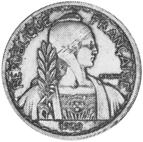 French Indo-China 20 Cents obverse