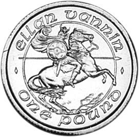 Isle Of Man Pound reverse