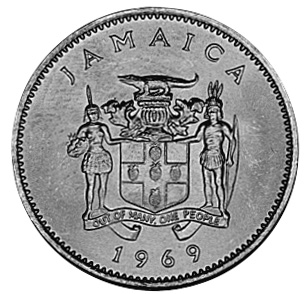 1969-1989 Jamaica 10 Cents obverse