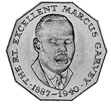 1975-1990 Jamaica 50 Cents reverse