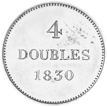 Guernsey 4 Doubles reverse