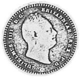 1836 Guyana 1/8 Guilder obverse