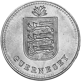 Guernsey 4 Doubles obverse