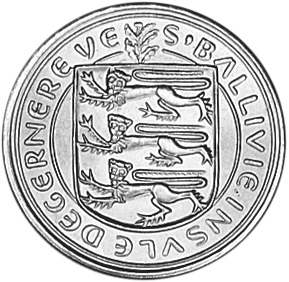 Guernsey 5 New Pence obverse