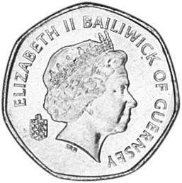 Guernsey 20 Pence obverse