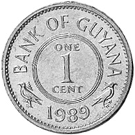 Guyana Cent obverse