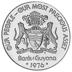 Guyana 5 Cents obverse
