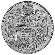 Guyana 10 Cents reverse
