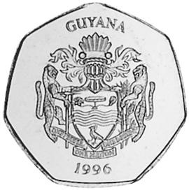 Guyana 10 Dollars obverse