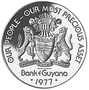 Guyana 100 Dollars KM 47 Prices & Values | NGC