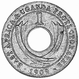 East Africa Cent reverse