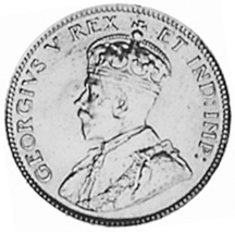 East Africa 25 Cents obverse