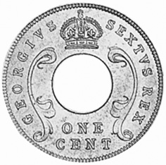 East Africa Cent obverse