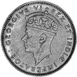 East Africa 50 Cents obverse