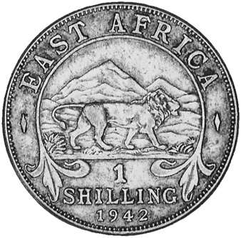 East Africa Shilling reverse