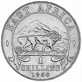 East Africa Shilling KM 31 Prices & Values | NGC