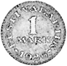 Estonia Mark reverse