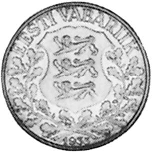 Estonia Kroon obverse